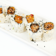 Spicy Tuna Roll with Crunch