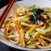51. Fry Homemade Vegetable Noodles
