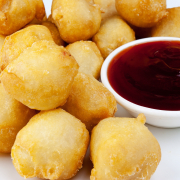 74. Deep Fried Sweet & Sour Chicken Balls