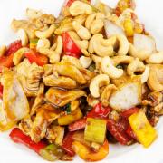 44. Cashew Chicken (Gai Pad Mamung Hin Mapan)