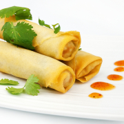 1. Vegetable Spring Roll (2 pcs)