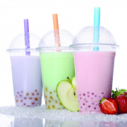 Fresh Fruit Bubble Tea