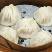 S1. Steam B.B.Q. Pork Buns (2 pcs)