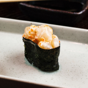 Chopped Scallop Nigiri