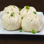 116. 生煎包 Shanghai Pan-Fried Juicy Spork Bun