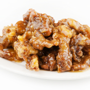 60. Honey Garlic Boneless Pork