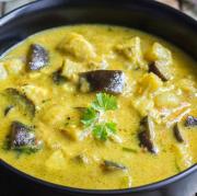 Eggplant Curry-Veg