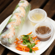 2. Shrimp and Pork Salad Roll (2 pcs)