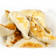 120. Grilled Pork Dumplings