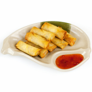 1. Crispy Spring Roll (1 pc)