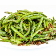 E04. Pickled Long Beans with Minced Pork