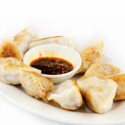 Fried Pork Dumplings (12 pcs)