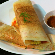 Butter Garlic Masala Dosa