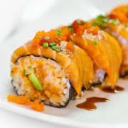 Spicy Salmon Roll (8 pcs)
