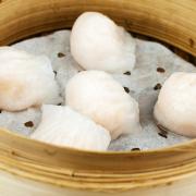 2. Crystal Prawn Dumpling (Har Kow) 東海蝦餃王