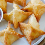 4a. Crab Meat Cheese Wonton (10 pcs)