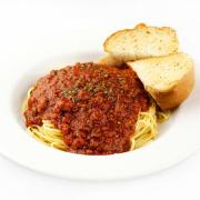 2. Meat Lasagna or Spaghetti