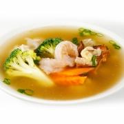 Shrimp Wonton Soup 鮮蝦雲吞湯