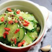 C3. Garlic Cucumbers