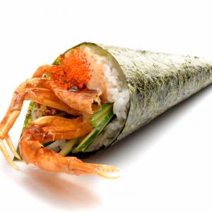 H7. Spicy Crab Meat Hand Roll (1 pc)