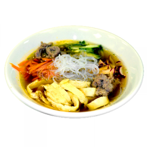 Noodle with Pork Ribs in Soup