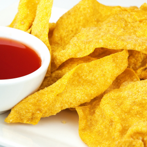 15. Deep Fried Wonton, Sweet & Sour Sauce on Side