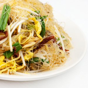 Three Kinds of Meat Fried Vermicelli