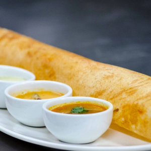 Shrimp Dosa