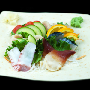 Assorted Sashimi (12 pcs)