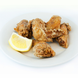 Deep Fried Chicken Wings with Spicy Salt