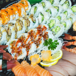 Sushi and Sashimi Party Tray