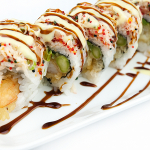 Deep-Fried Osaka Roll (5 pcs)