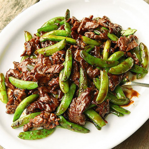 111. Sliced Beef with Snow Peas