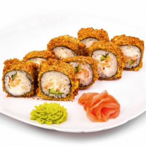 323. Crab Meat Tempura Rolls (8 pcs)