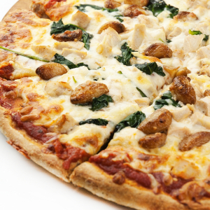 Medium Jessy's Chicken Garlic Pizza