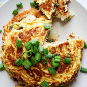 20. Shredded Chicken Egg Foo Young