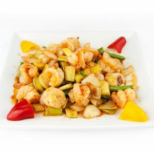 Spicy Prawns Szechuan Style