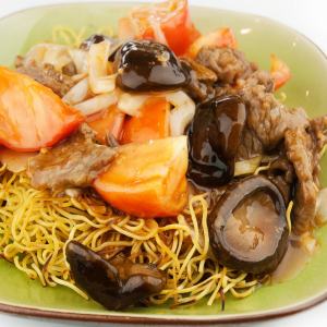 9. Tomato Stir-Fried Noodles 番茄炒面