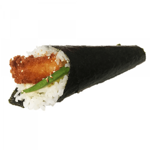 H8. Chicken Teriyaki Hand Roll (1 pc)