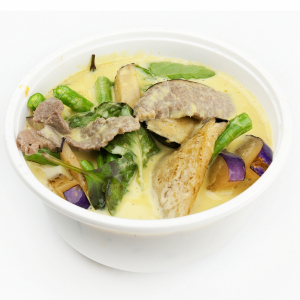 Green Curry with Vegetables and Pineapple