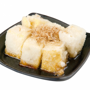 1. Agedashi Tofu (8 pcs)