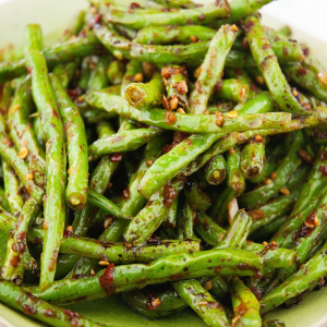 Pan Fried Green Bean With Chilli