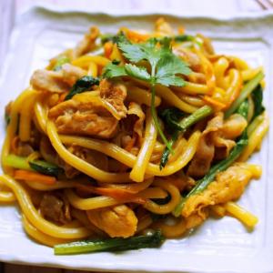 134. Chicken Fried Udon