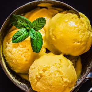 2. Home Made Mango Ice-Cream