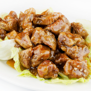 121. Honey Garlic Spareribs