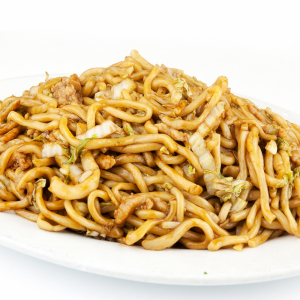 240. Stir-Fried Shanghai Noodles in Black Pepper Sauce