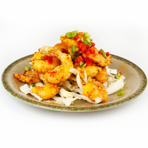 46. Salted & Spiced Shrimp (with Shell) 椒鹽有頭蝦