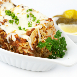2 for 1 Baked Vegetarian Lasagna