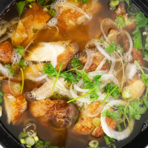 SS1. Small Grilled Chicken with Rice Noodle Soup