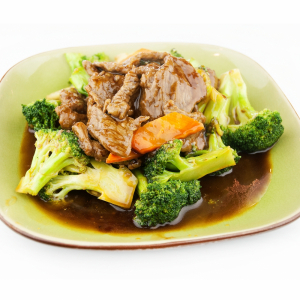 2-15 Stir-Fried Beef with Broccoli